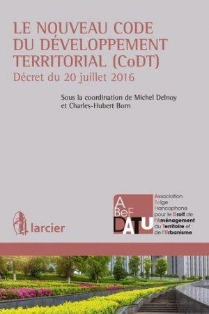 Le nouveau code du développement territorial (CODT) - Larcier - 9782804499419 -