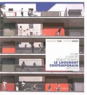 Le logement contemporain - mardaga - 9782804701550