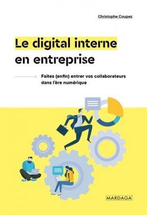 Le digital interne en entreprise - mardaga - 9782804707705 -