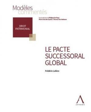 Le pacte successoral global - Anthemis - 9782807207929 -