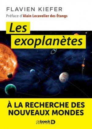 Les exoplanètes - de boeck - 9782807313316