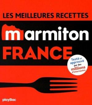 Les meilleures recettes Marmiton France - Play Bac - 9782809656428 -