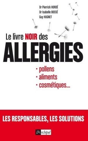 Le livre noir des allergies - l'archipel - 9782809816532 -