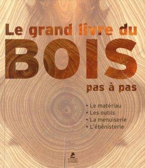 Le grand livre du bois - place des victoires - 9782809910315 -