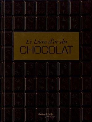 Le livre d'or du chocolat - prisma - 9782810414710 -