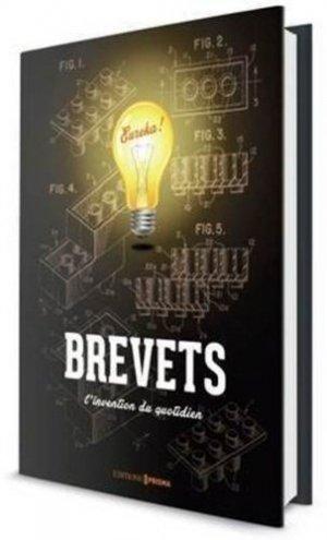 Le livre des incroyables brevets - prisma - 9782810415380 -
