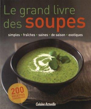 Le grand livre des soupes - prisma - 9782810416035 -