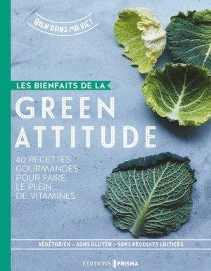 Les bienfaits de la green attitude - prisma - 9782810421534 -