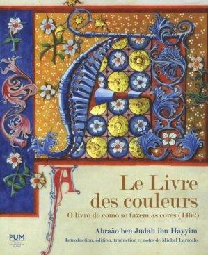 Le Livre des couleurs - presses universitaires du mirail  - 9782810704910 -