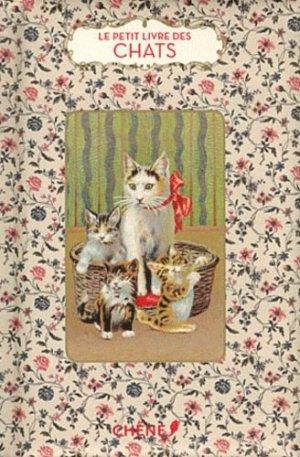 Le petit livre des chats - du chene - 9782812304392 -