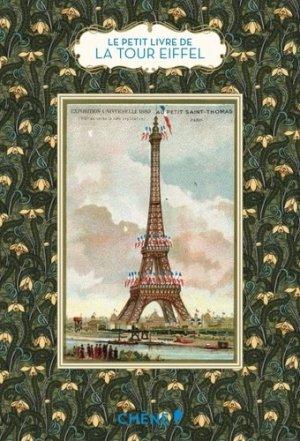 Le petit livre de la tour Eiffel - du chene - 9782812312328 -