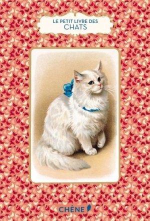Le petit livre des chats - du chene - 9782812312786 -