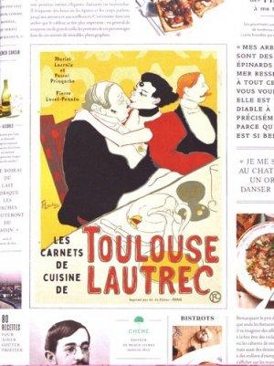 Les carnets de cuisine de Toulouse-Lautrec - du chene - 9782812316333 -