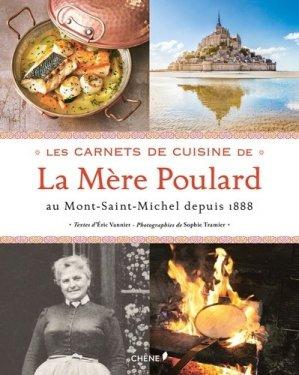Les carnets de cuisine de la mère Poulard - du chene - 9782812317729