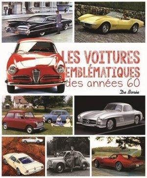 Les voitures emblématiques des années 60 - de boree - 9782812924705 -