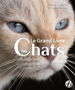 Le grand livre des chats - de borée - 9782812925337 -