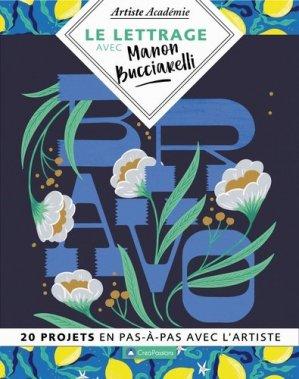 Le lettrage avec Manon Bucciarelli - creapassions - 9782814105355 -