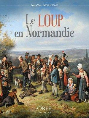 Le loup en Normandie - orep - 9782815105064 -