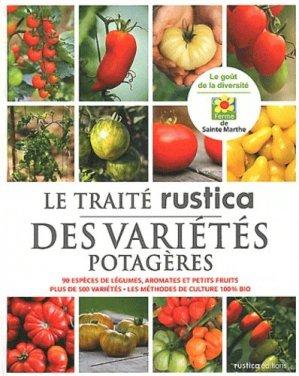 Le traité rustica des variétés potagères - rustica - 9782815302043