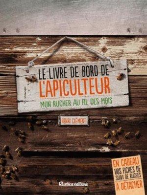 Le livre de bord de l'apiculteur - rustica - 9782815303743
