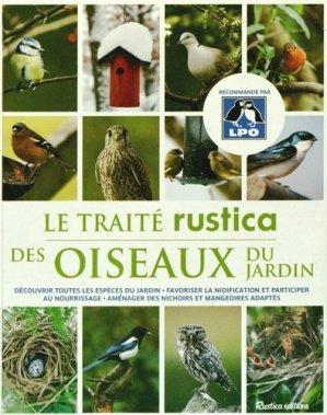 Le traité rustica des Oiseaux du jardin - rustica - 9782815305594 -