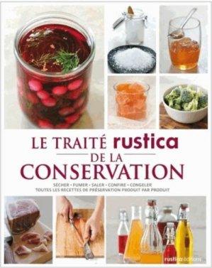 Le traité Rustica de la conservation - rustica - 9782815305600 -