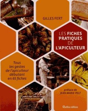 Les fiches pratiques de l'apiculteur - rustica - 9782815305921 -
