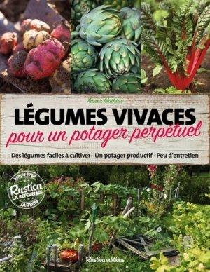 Légumes vivaces pour un potager perpétuel - rustica - 9782815309431 -