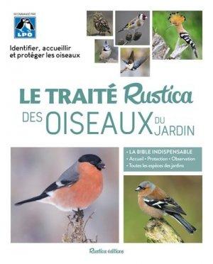 Le traité rustica des Oiseaux du jardin - rustica - 9782815312646 -