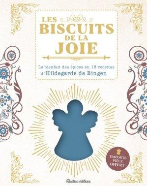 Les biscuits de la joie d'Hildegarde de Bingen - Rustica - 9782815313674 -
