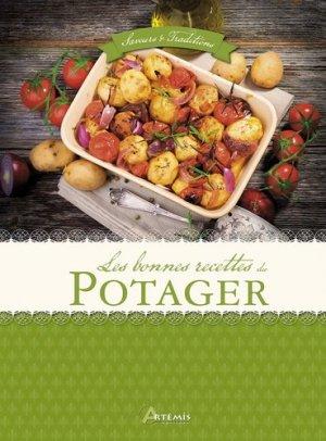 Les bonnes recettes du potager - artemis - 9782816006926 -
