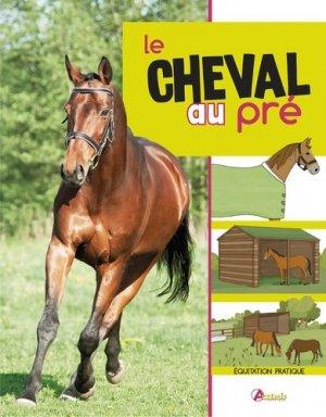 Le cheval au pré - artemis - 9782816011531
