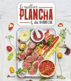 Le meilleur de la plancha et du barbecue - artemis - 9782816012965 -