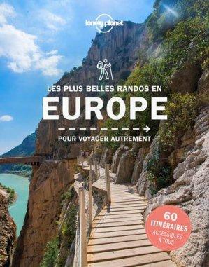 Les plus belles randonnées en Europe - Lonely Planet - 9782816193695 -