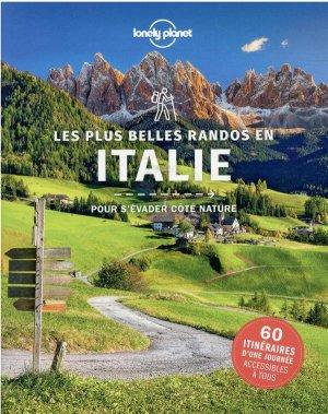Les plus belles randonnées en Italie - lonely planet - 9782816194067 -