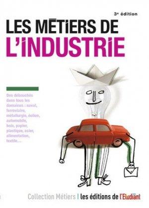Les métiers de l'industrie - l'étudiant - 9782817605395 -