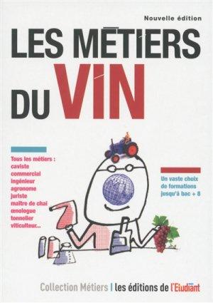 Les métiers du vin - l'étudiant - 9782817605852
