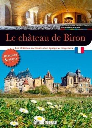 Le château de Biron - sud ouest - 9782817707044 -