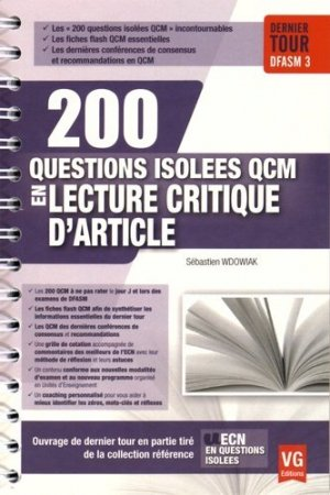 Lecture critique d'article - vernazobres grego - 9782818313794 -