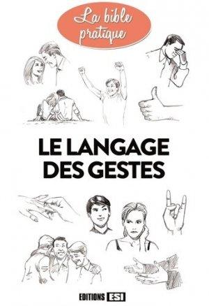 Le langage des gestes - esi - 9782822605489 -