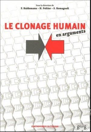 Le clonage humain en arguments - georg - 9782825709092 -
