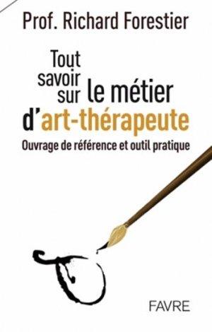 Le métier d'art thérapeute - favre - 9782828914431 -