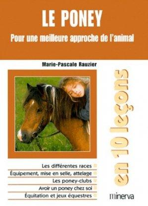 Le poney. Pour une meilleure approche de l'animal - Minerva - 9782830705881 -