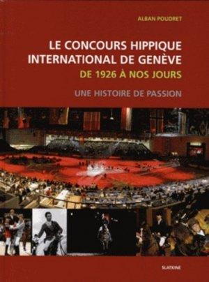 Le concours hippique international de Genève de 1926 à nos jours. Une histoire de passion - slatkine - 9782832104736 - https://fr.calameo.com/read/000015856c4be971dc1b8
