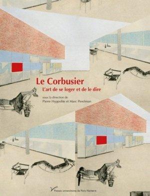 Le Corbusier - presses universitaires de paris ouest - 9782840163657 -