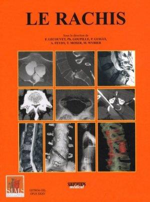 Le rachis - sauramps medical - 9782840235767