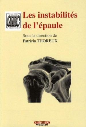 Les instabilités de l'épaule - sauramps medical - 9782840235965