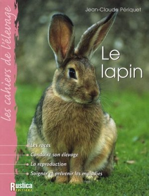 Le lapin - rustica - 9782840386315 -
