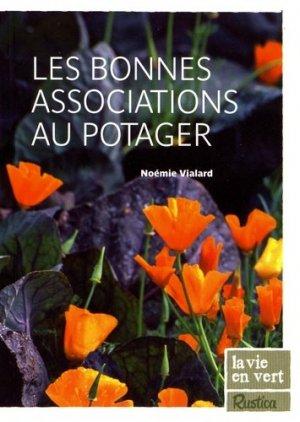 Les bonnes associations au potager - rustica - 9782840389743 -