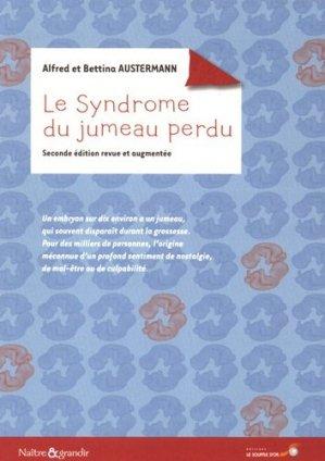Le syndrome du jumeau perdu - le souffle d'or - 9782840585473 -